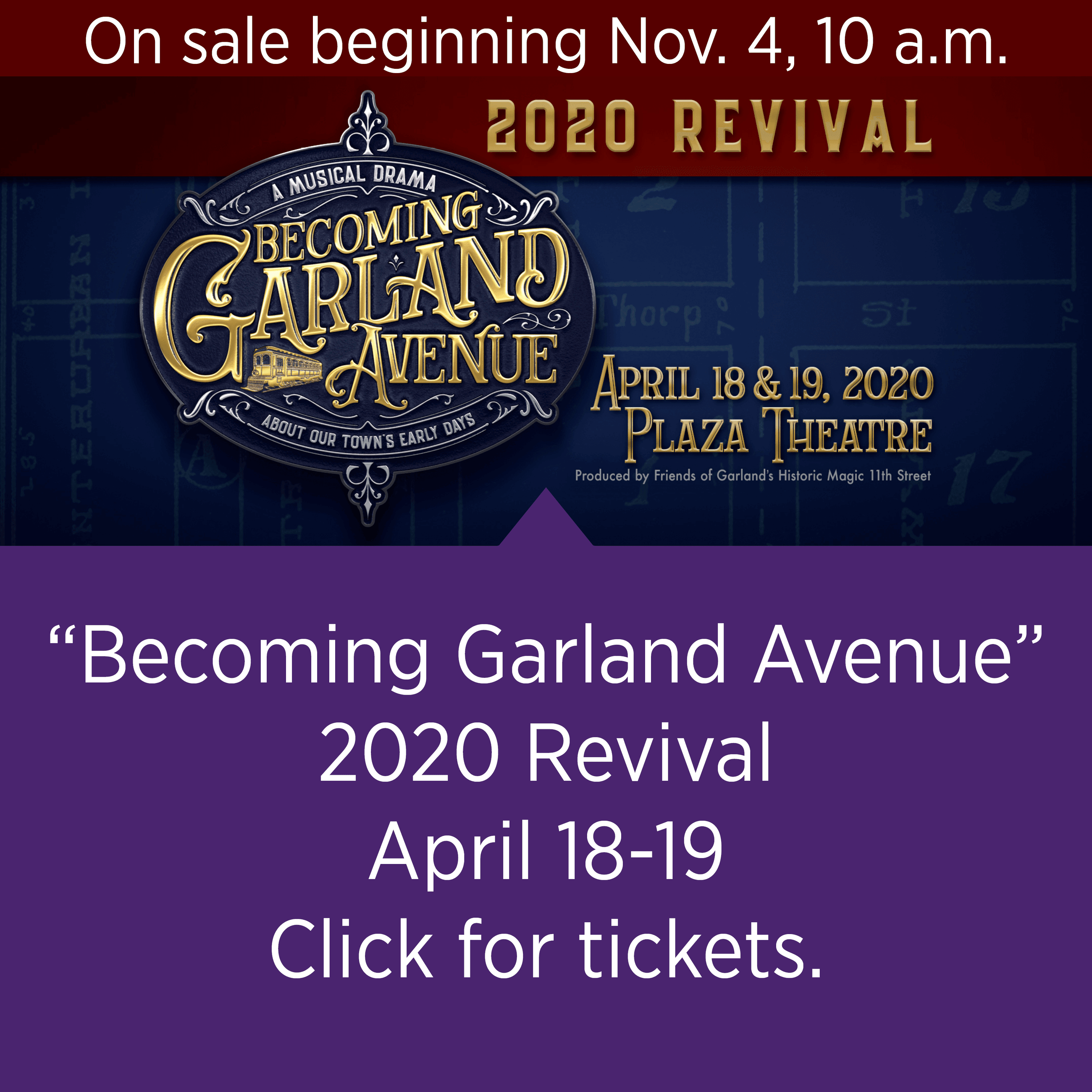 """Becoming Garland Avenue"" (2020 Revival)"