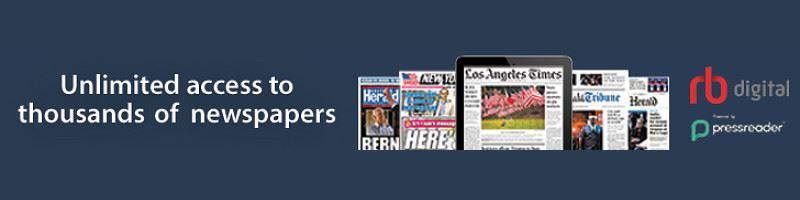 Newspapers Horizontal Web Banner