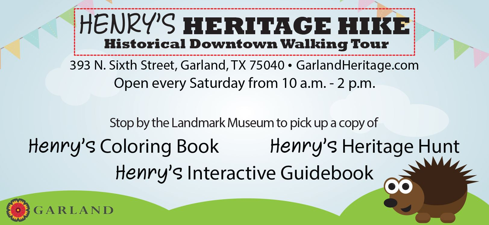 Henrys Heritage Hike Historic Downtown Walking Tour Information